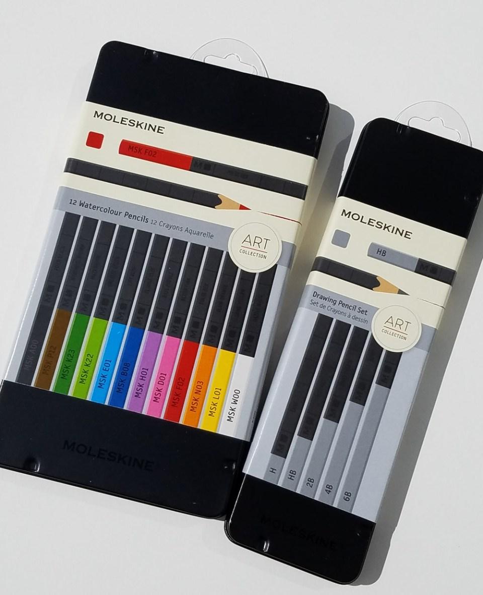 Pencil Review: Moleskine Drawing Pencils