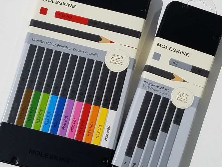 Pencil Review: Moleskine Naturally Smart Watercolor Pencils
