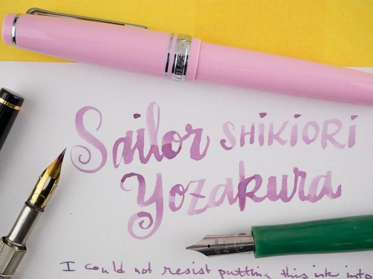 Ink Review: Sailor Shikiori Yozakura