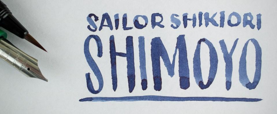 Ink Review: Sailor Shikiori Shimoyo