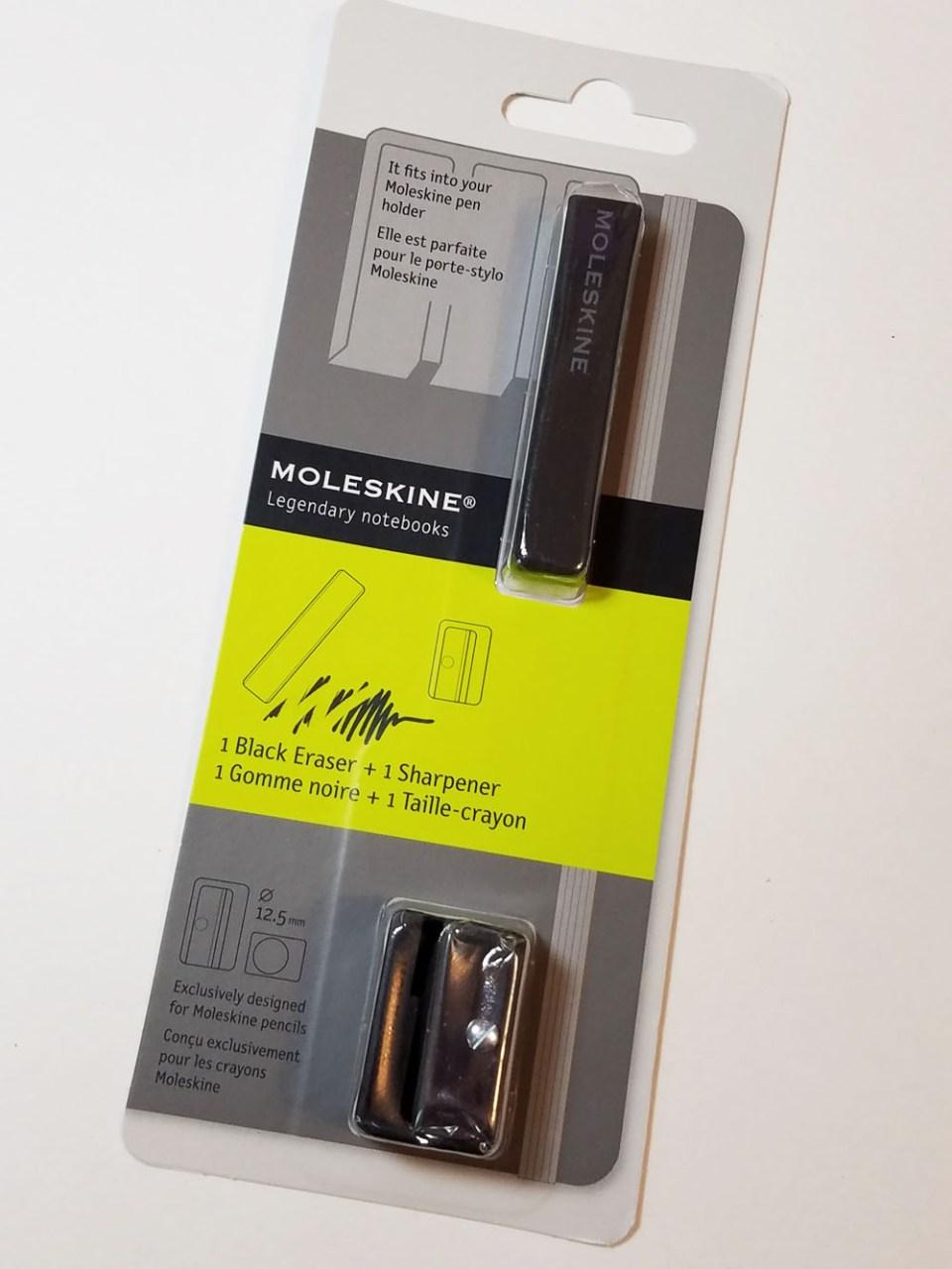 Review: Moleskine Eraser & Sharpener Set