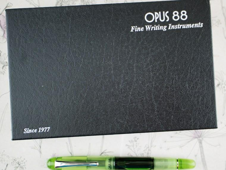 Fountain Pen Review:  Opus 88 Picnic in  Green (Fine Nib)