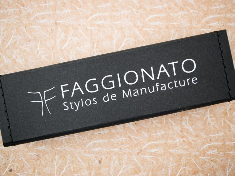 Fountain Pen Review: Faggionato Pétrarque Carnival with Gold Plated Steel Nib