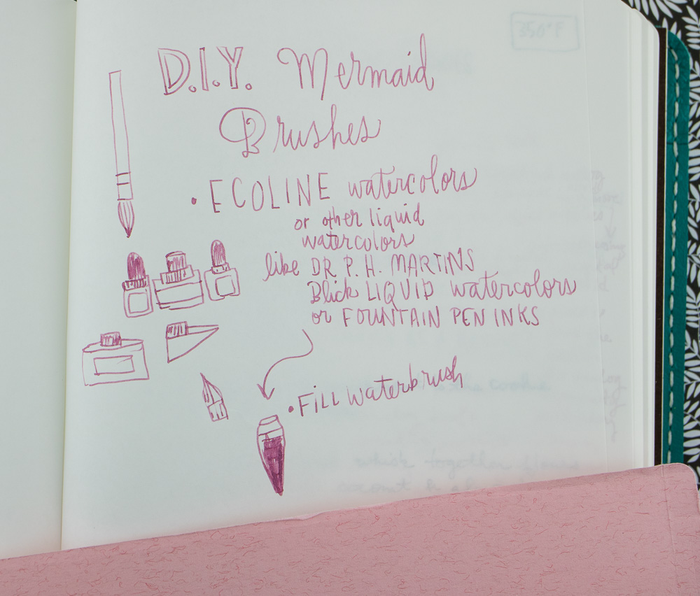 Nanami South Seas Notebook writing sample
