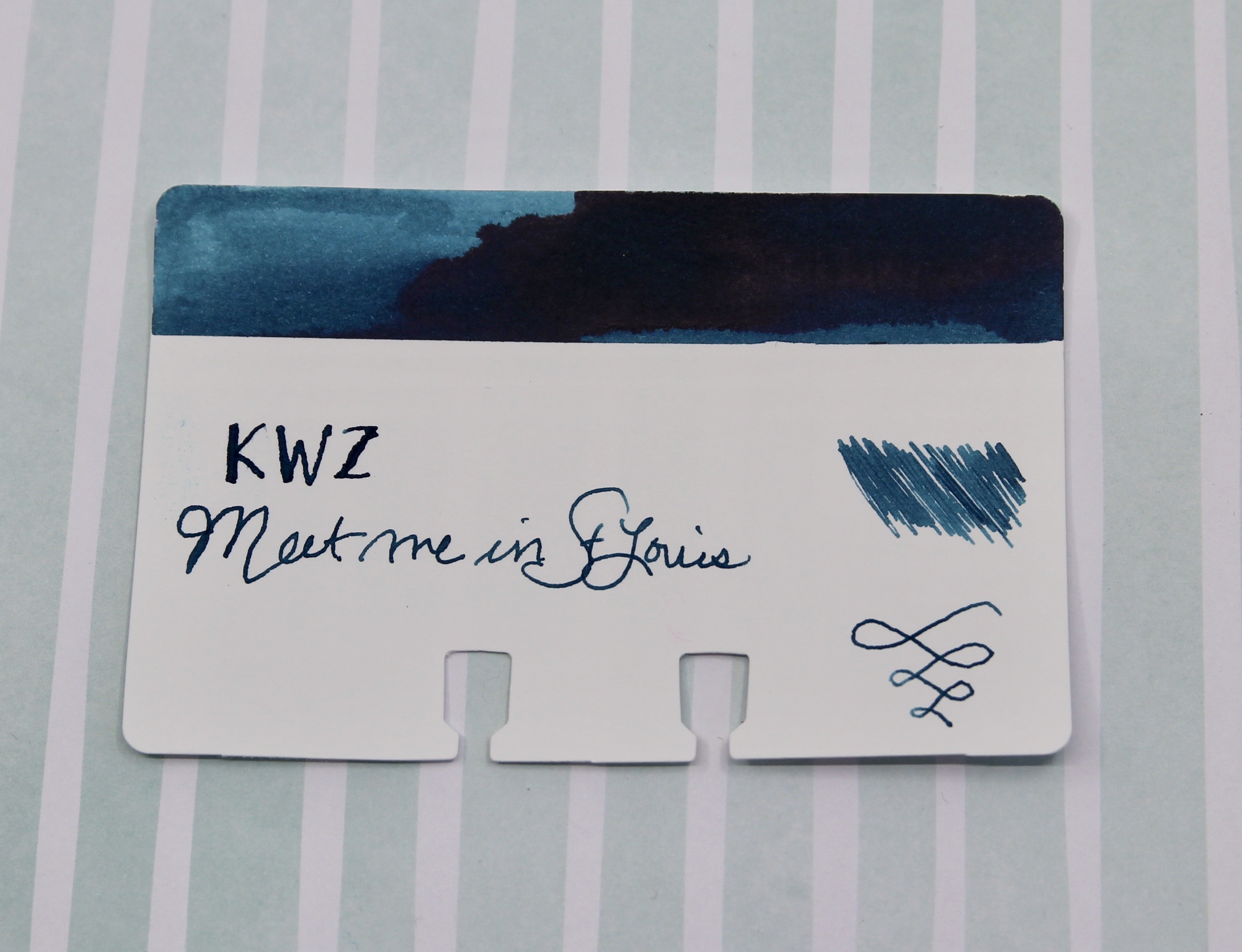 Ink Review: KWZ Meet me in St  Louis - The Well-Appointed Desk