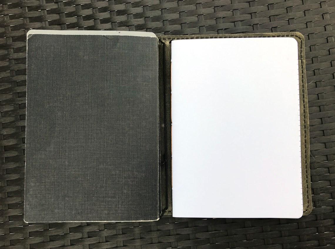 Nanami Seven Seas in Curnow Leather Cover