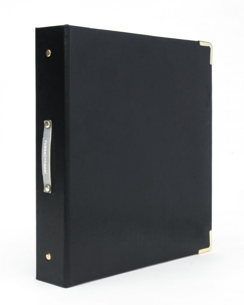 Russell + Hazel Vegan Leather Signature Binder