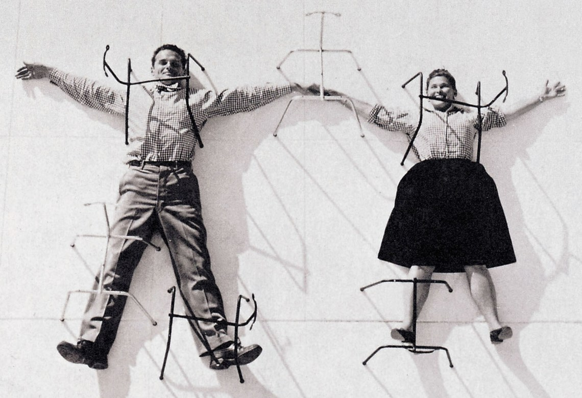 Ray & Charles Eames chair wires