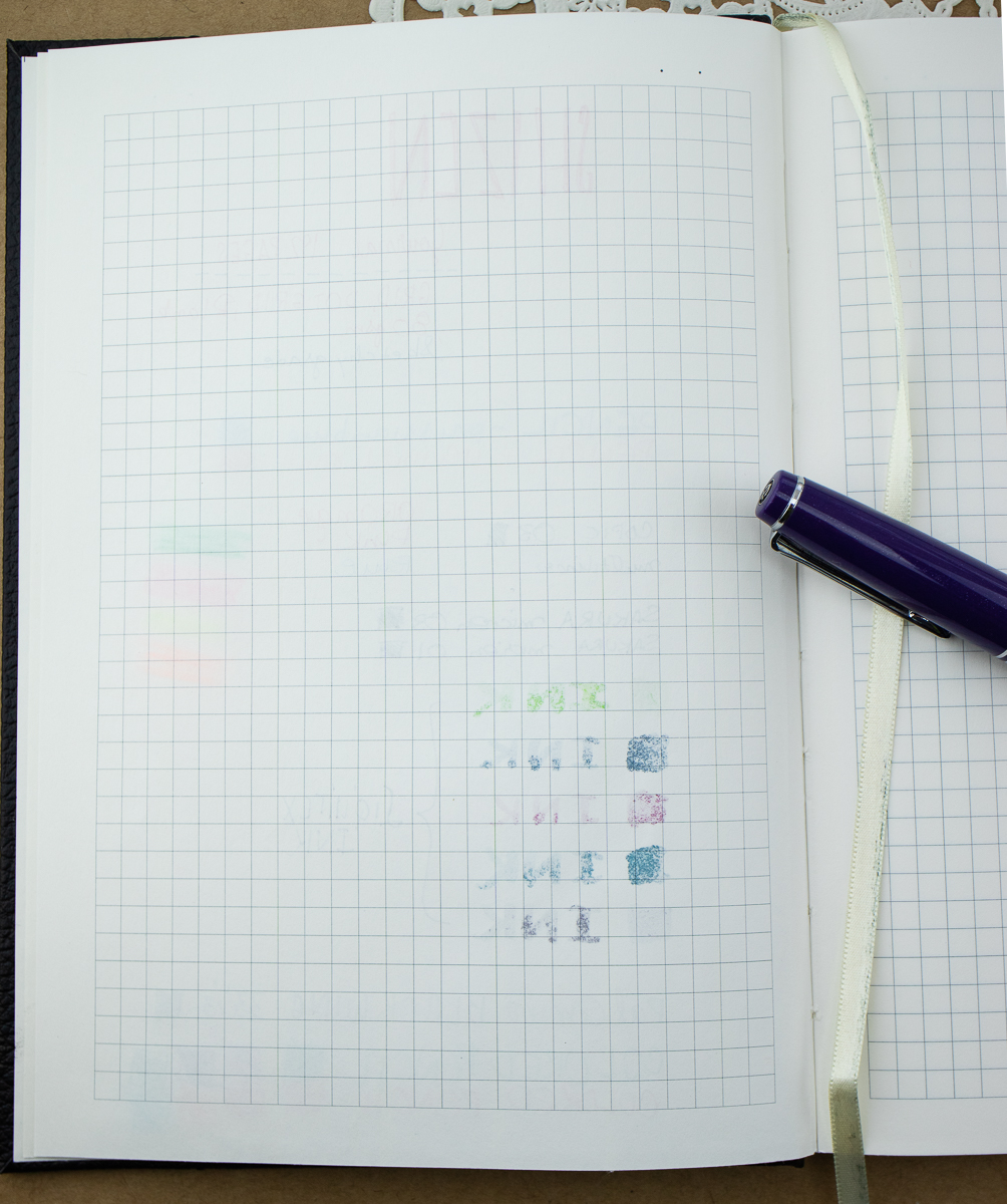 shizen journal reverse side