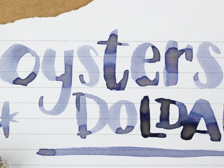 Inkmas Day 10: 3 Oysters Doldam