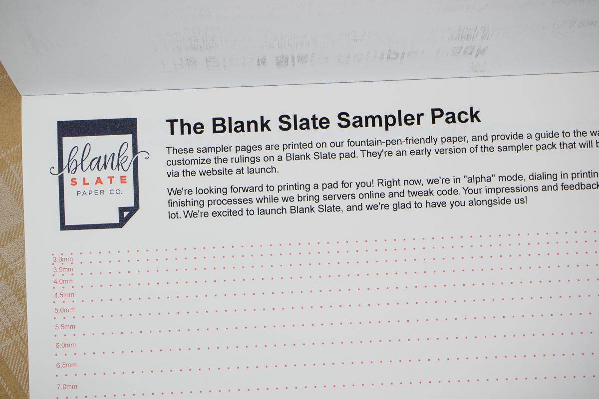 Paper Review: Blank Slate Paper Co.