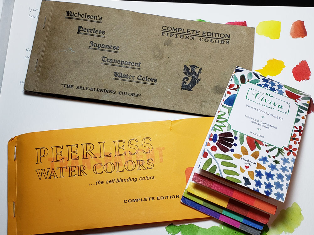 Watercolor Review Viviva Colorsheets The Well Appointed Desk