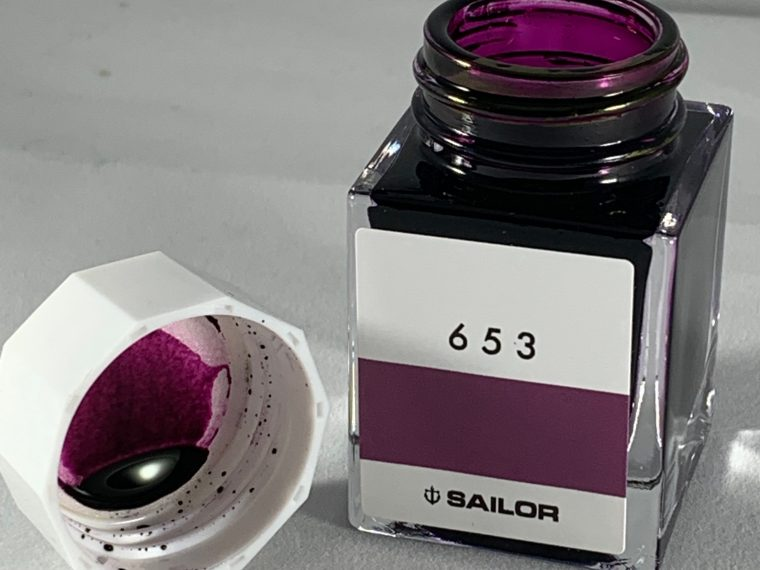 Ink Review: Sailor Studio 653
