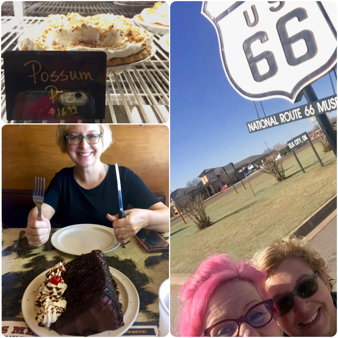 On the road to LA: desserts and museum stop