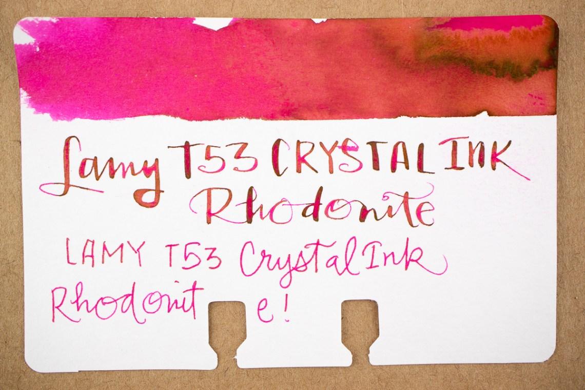 Lamy Crystal Rhodonite