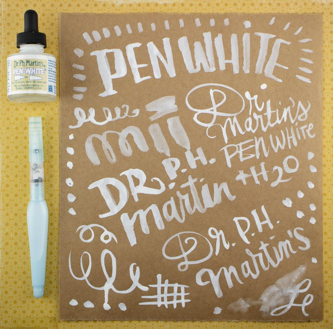 Dr. PH Martin's Pen White