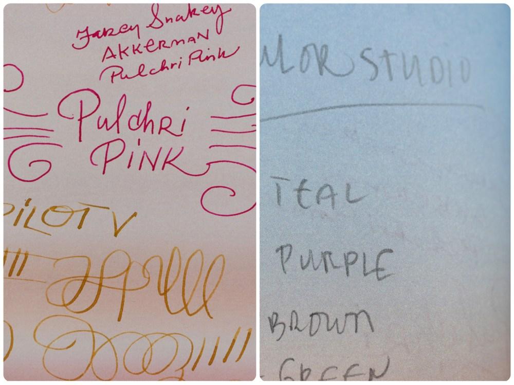 Nuuna Mood Notebook quick writing test