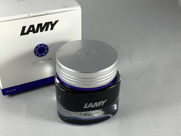 Ink Review: Lamy Crystal Azurite