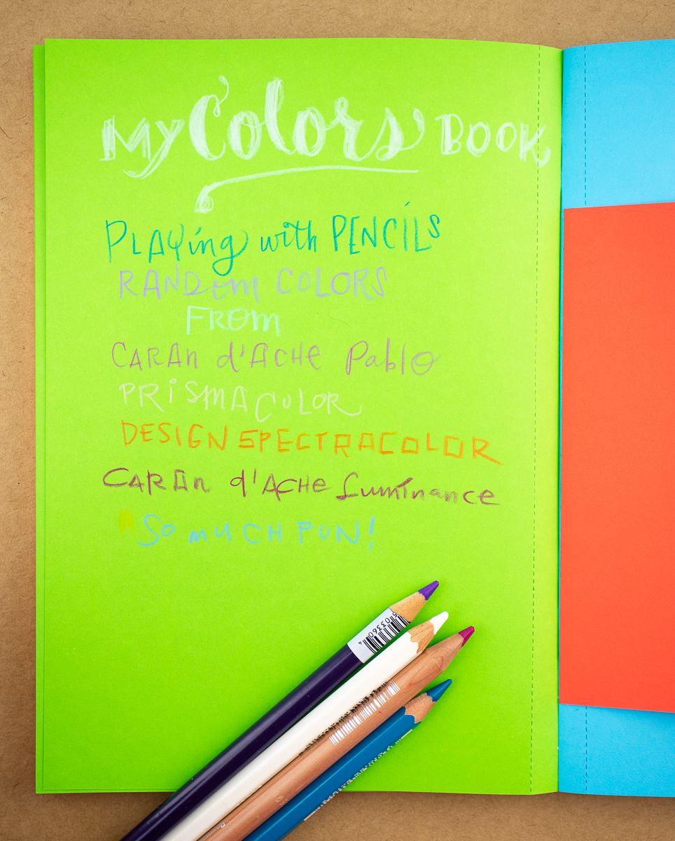 Nava My Colors Book writing sample 1