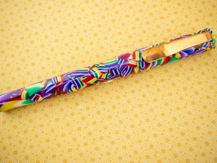 Fountain Pen Review: Hinze American Graffiti with Custom Clip