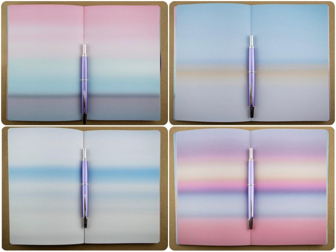 Nuuna Mood Notebook sample pages