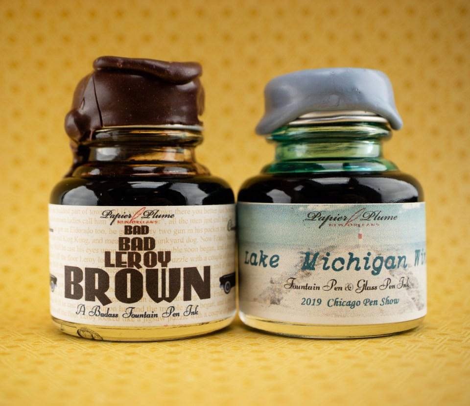 Papier Plume Lake Michigan Winter & Bad Bad LeRoy Brown