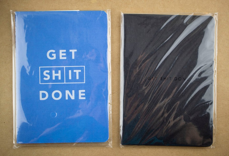 MiGoals Get Shit Done A6 Notebook