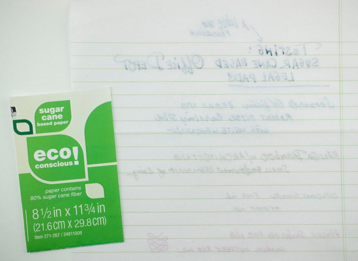 Office Depot Eco Conscious Sugar Cane Based