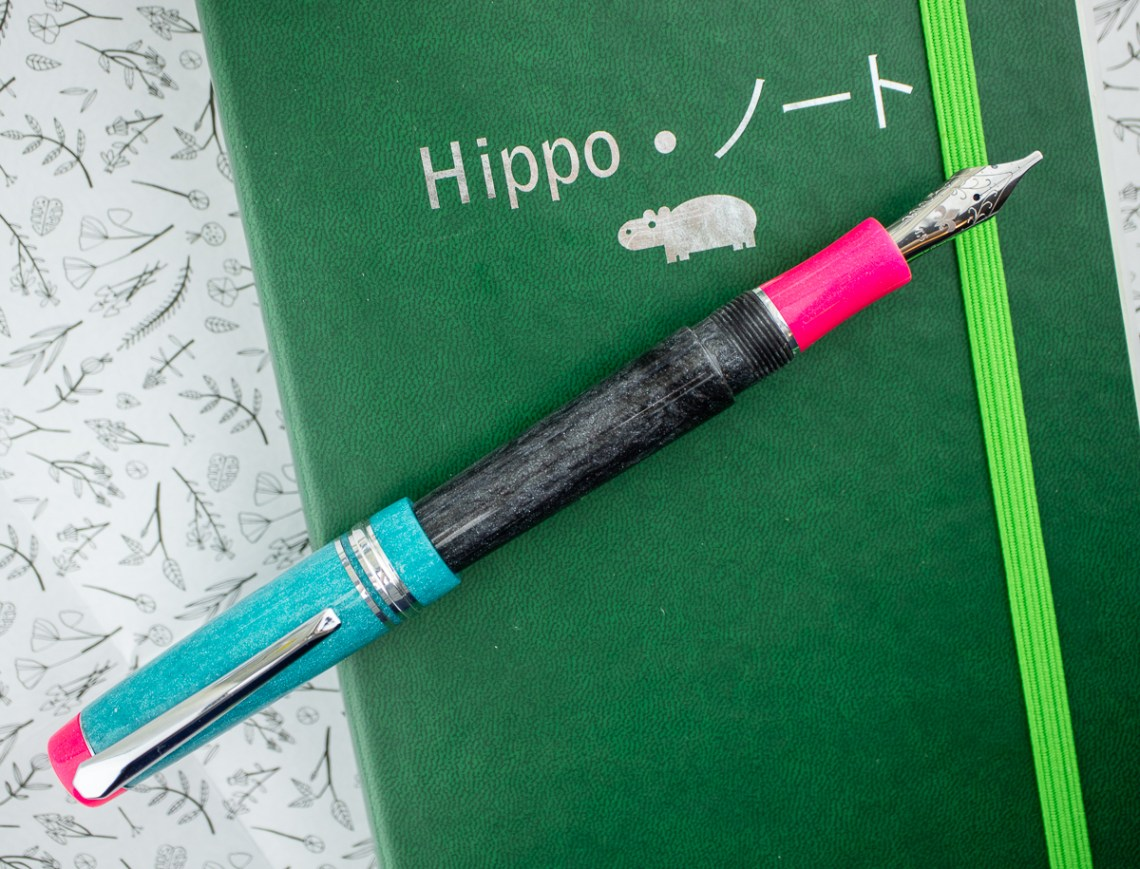 Hippo Noto x Herbert Pen Company Pygmy Invasion Pen!