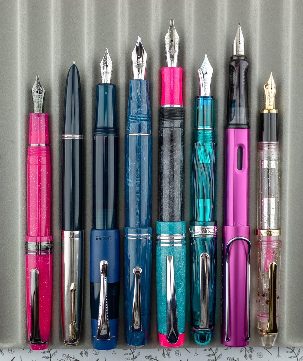 Hippo Noto x Herbert Pen Company Pygmy Invasion Pen size comparison