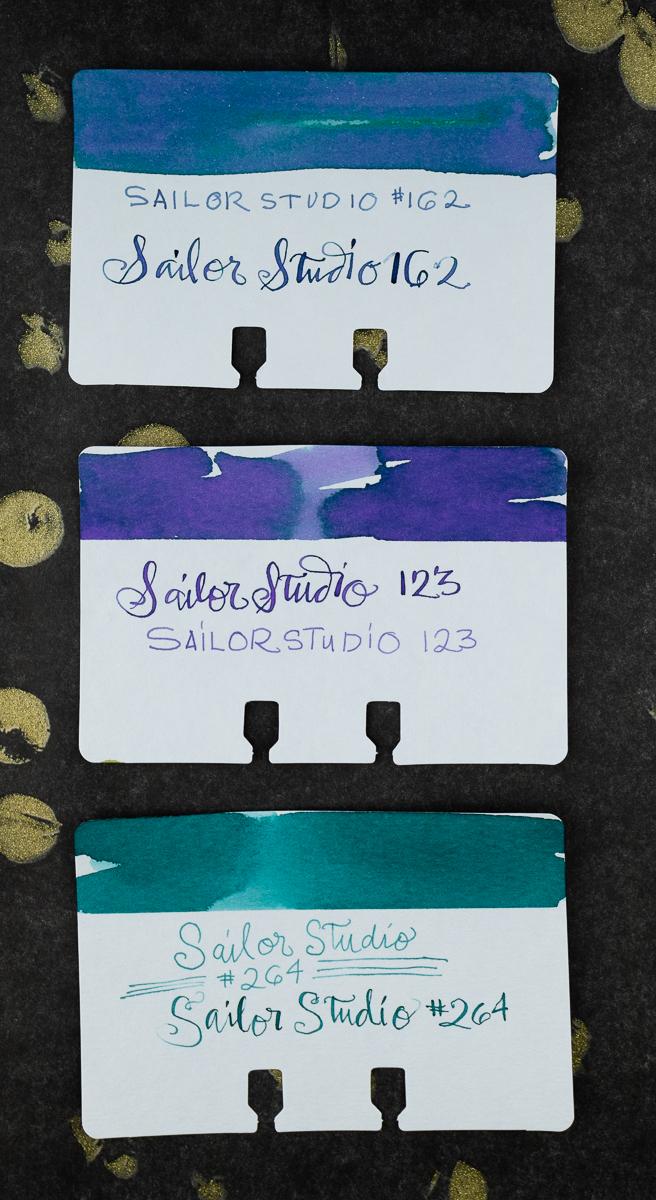 Sailor Studio Col-o-dex Swatches
