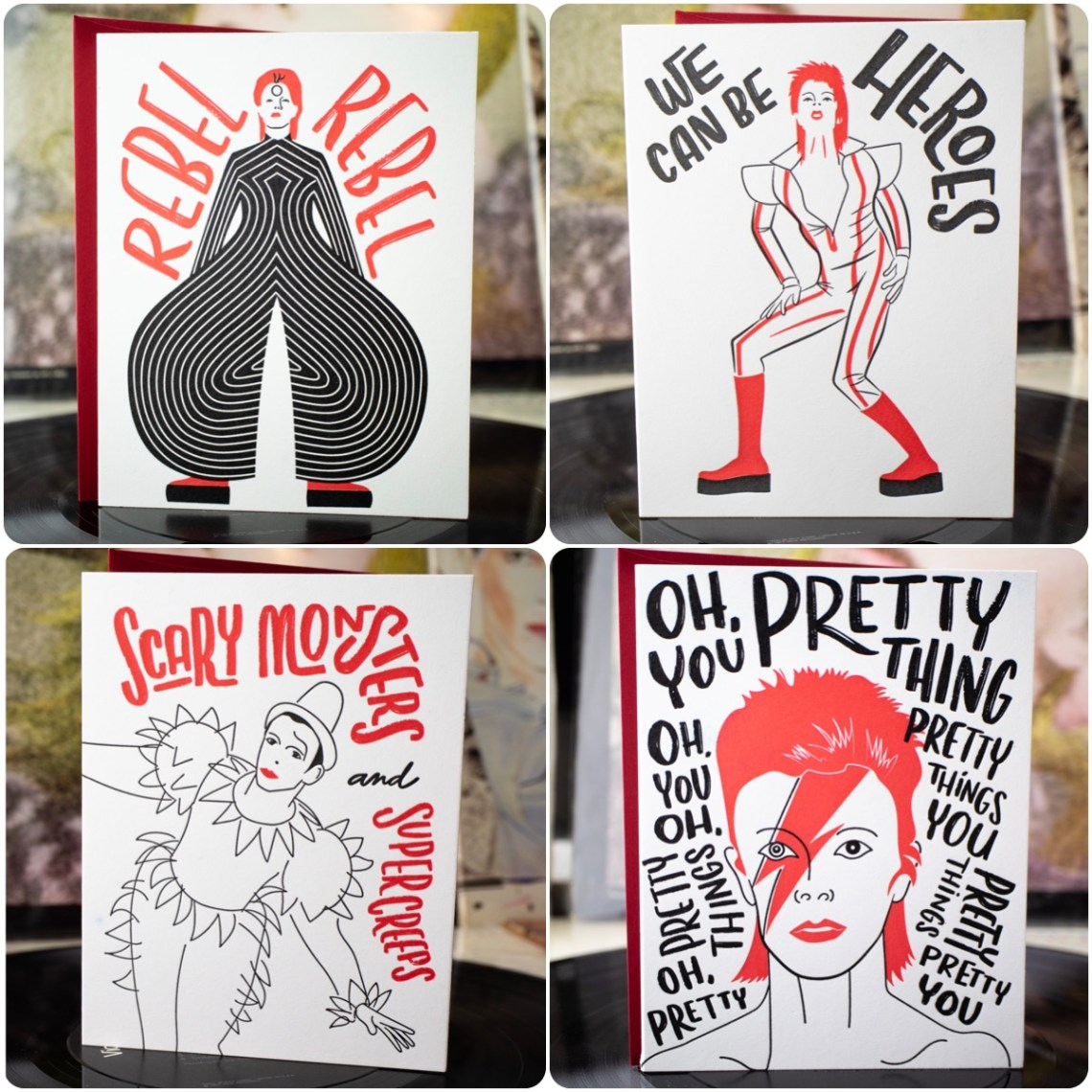 Space Oddity Card Set