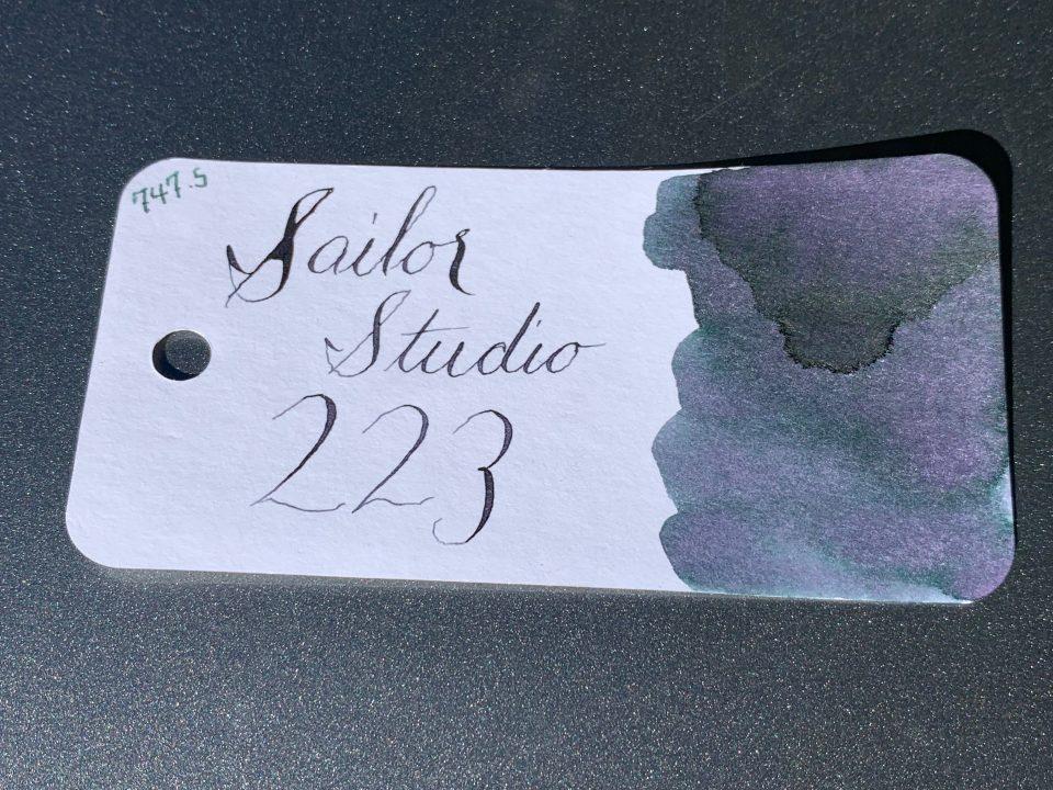 Ink Review: Sailor Studio 223