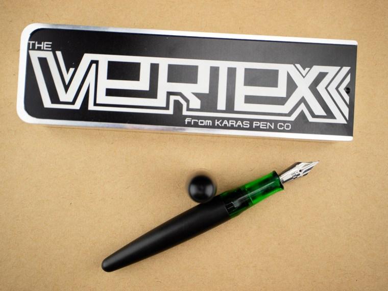 Fountain Pen Review: Karas Pen Co. Vertex (Delrin)