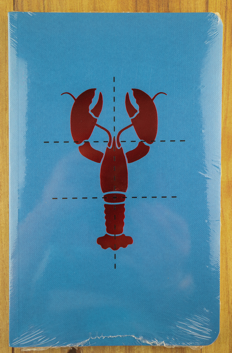 Poach My Lobster Notebook wrapped