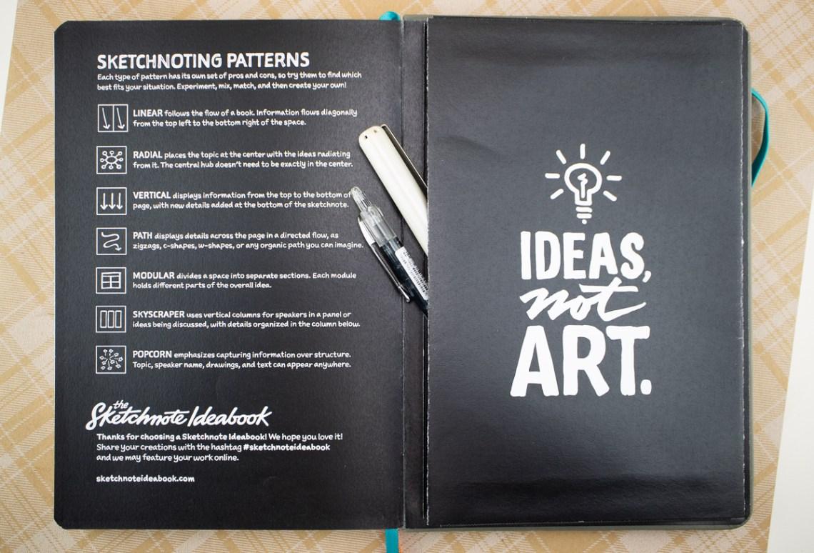 Sketchnote Notebook inside back cover