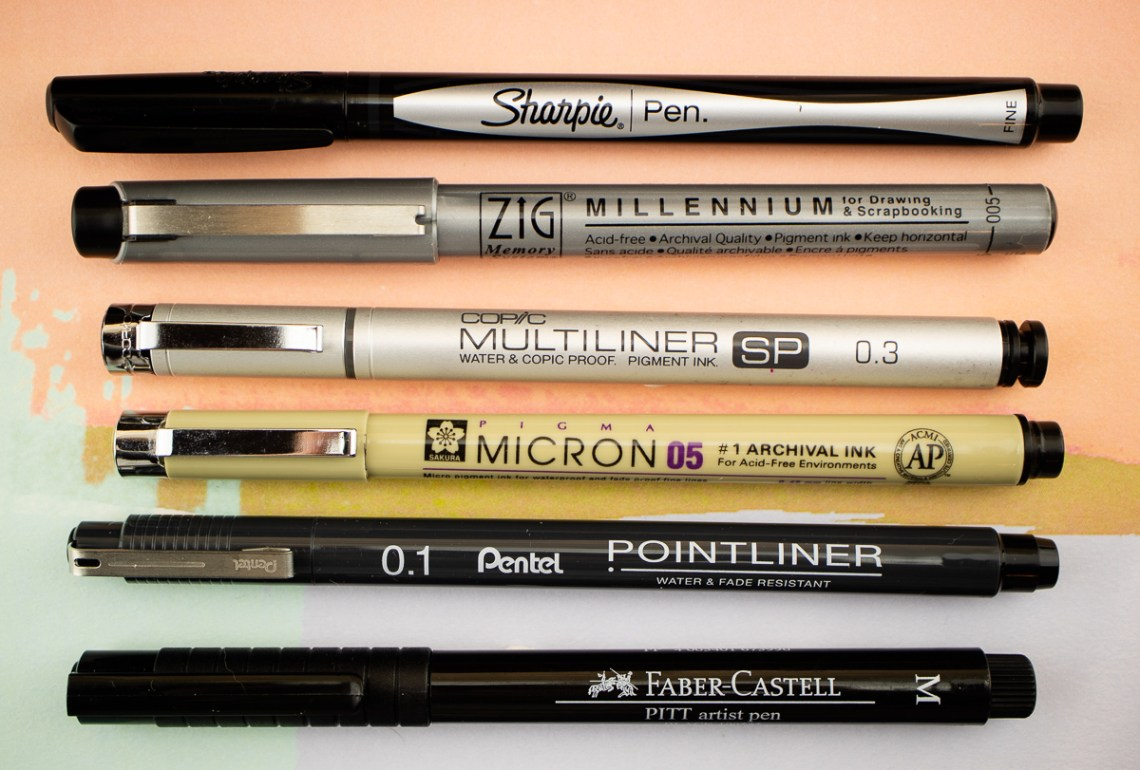 Competitive Fineliner Pens