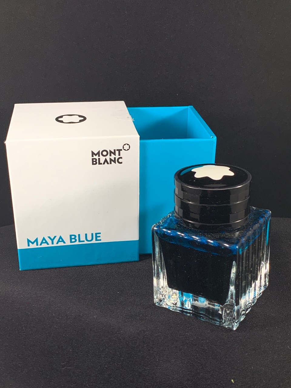 Ink Review: Montblanc Maya Blue