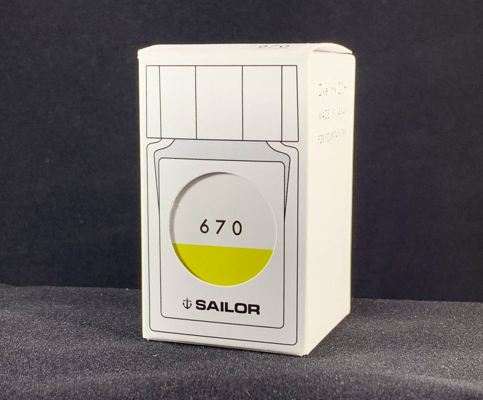 Sailor Studio 670