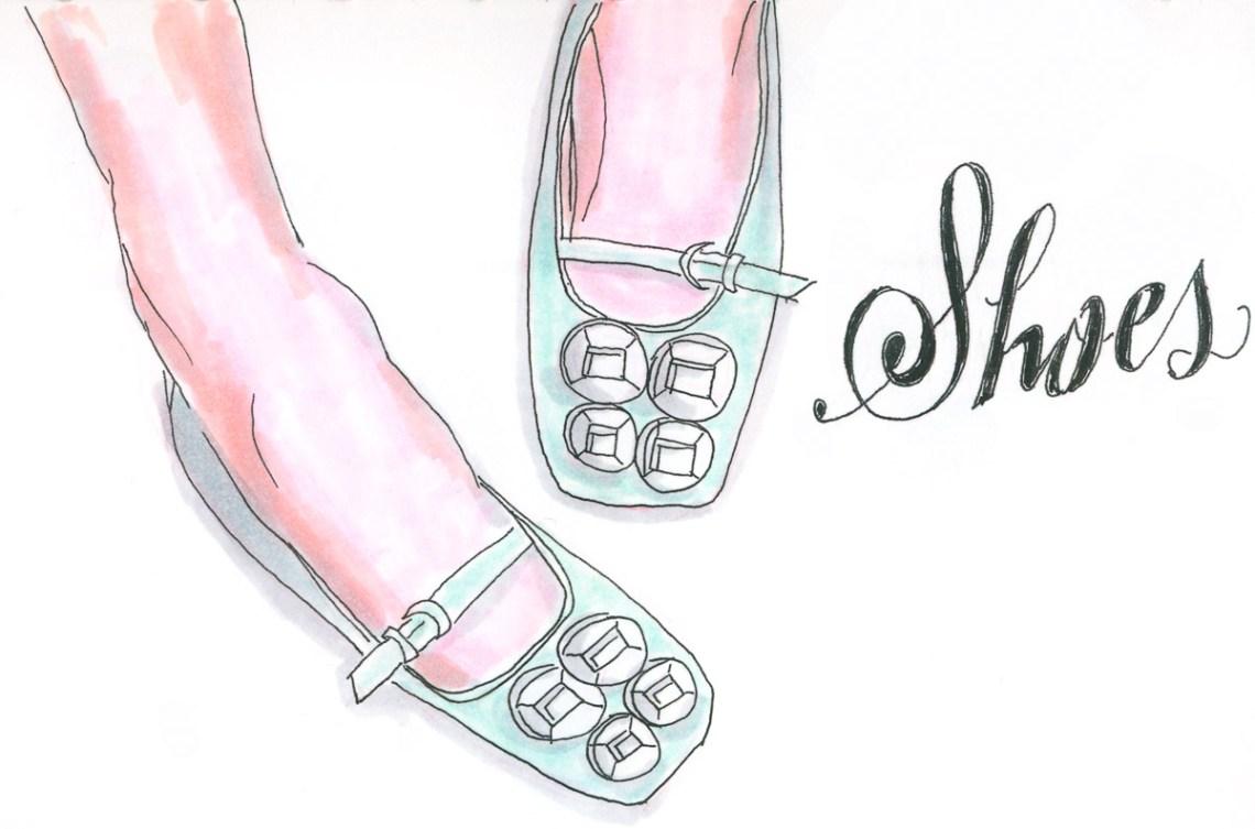 Inktober 2019 - Shoes