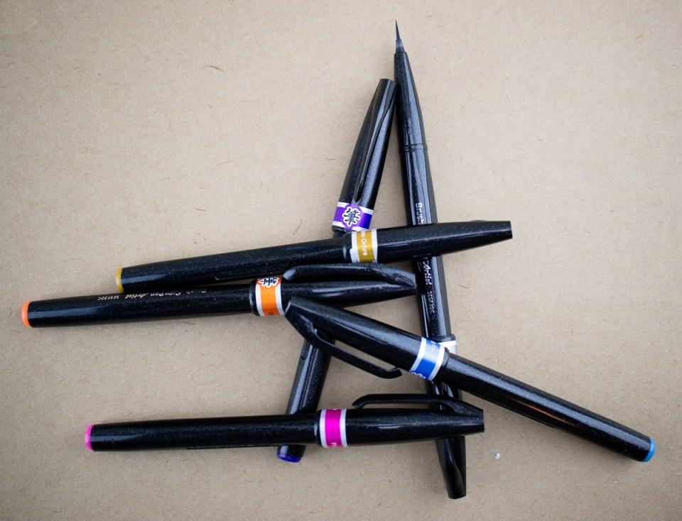 Pentel Artist Brush Pens
