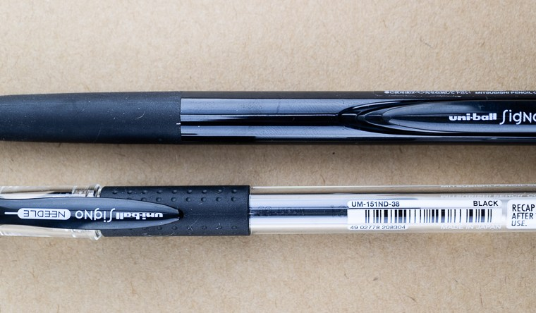 Pen Review: Signo RT1 vs Signo Needle