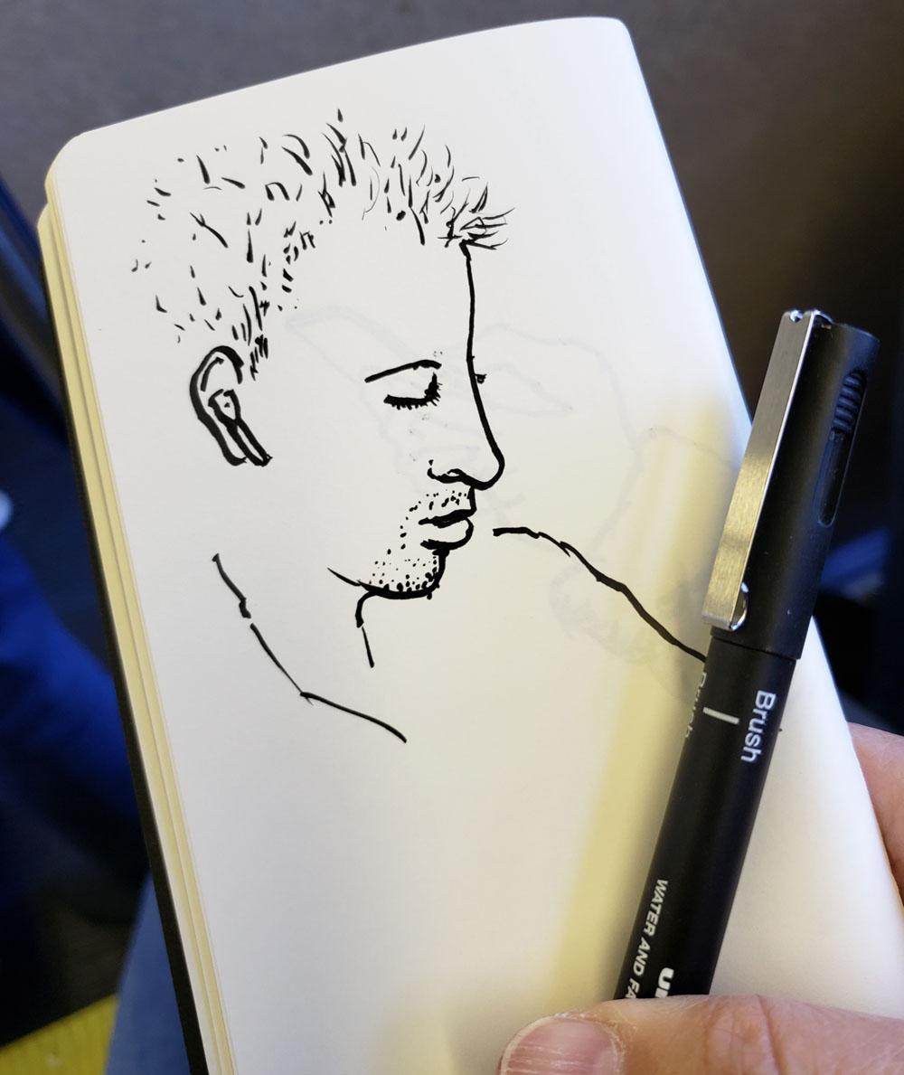 11 - sketch in Blackwing Clutch