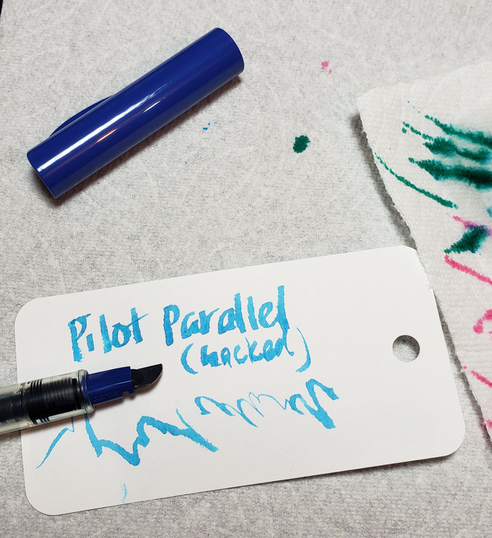 hacked Pilot Parallel with Sky Blue
