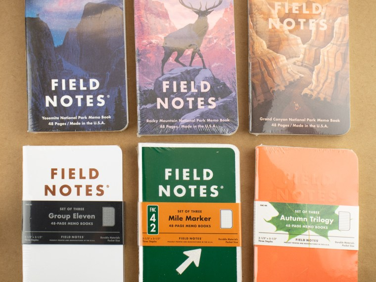 Notebook Review: Field Notes (F)All Editions