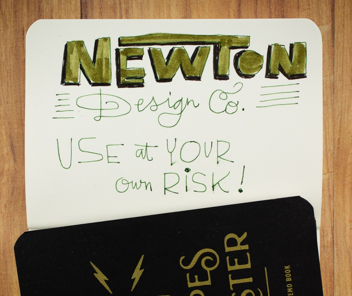 Newton Design Co. Memo Books