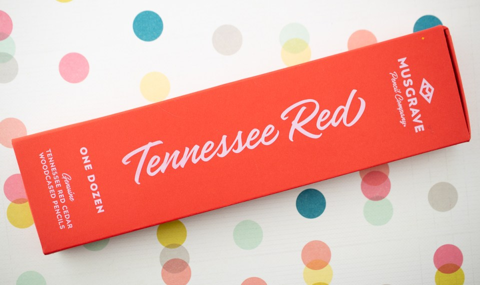 Musgrave Tennessee Red Pencils