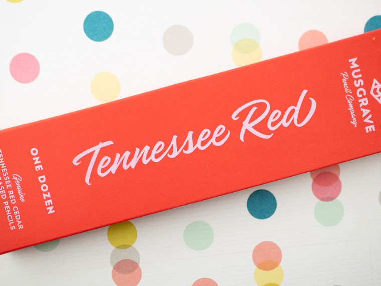 Pencil Review: Musgrave Tennesse Red