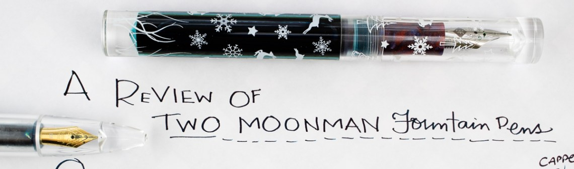 Moonman Fountain Pen header