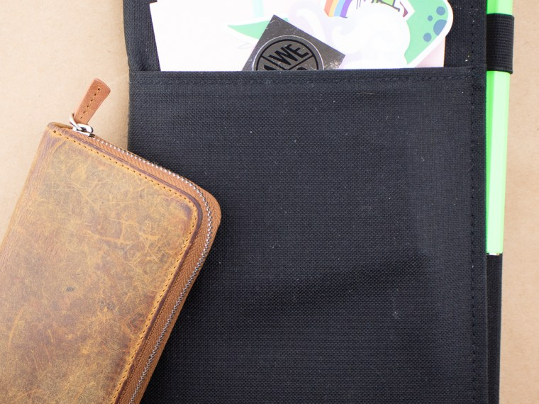 Review: Kokoyu Systemic Notebook Cover A5 Fabric in Real Life Usage